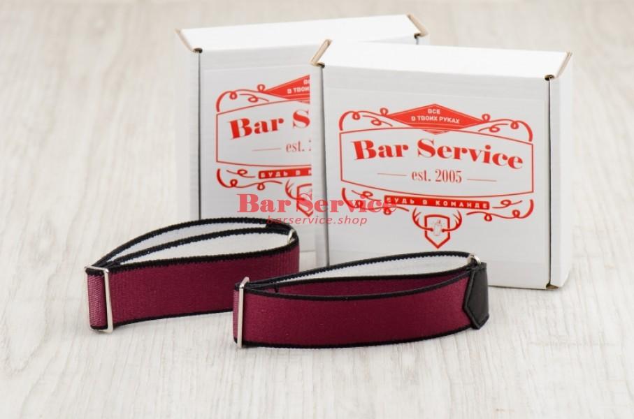 Армбенды, цвет бордо. Bar Service в Ульяновске